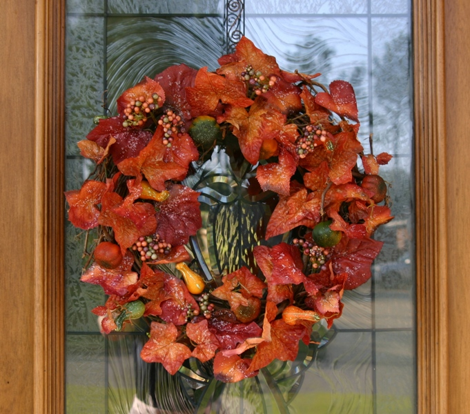 Fall Front Door Wreath